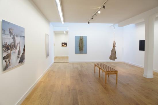 Exhibition view Kim Boske - Flatland Gallery Amsterdam