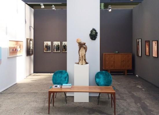 Fair impression for Art Paris - Flatland Gallery Amsterdam