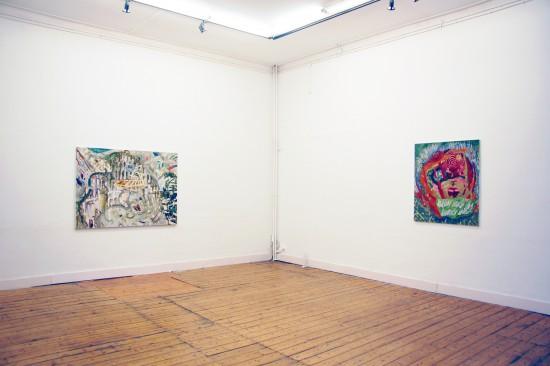 Exhibition view Het Mooie van Opstaan - Flatland Gallery Amsterdam