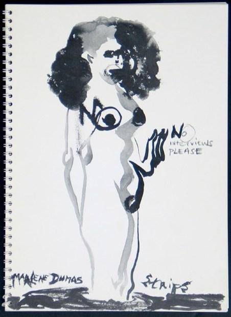 Marlene Dumas: Strips preview