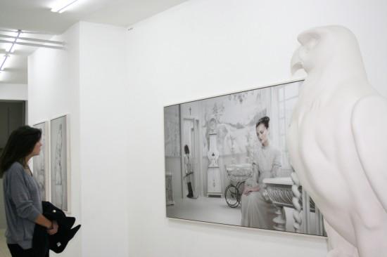 Exhibition view Dusk, Dawn & Hotel - Flatland Gallery Amsterdam