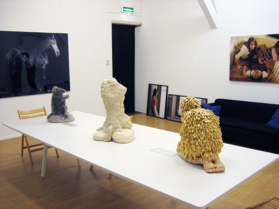 Exhibition view Exotica - Flatland Gallery Amsterdam
