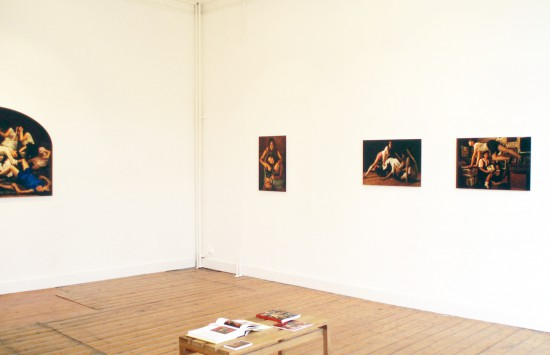 Exhibition view Lamentations - Flatland Gallery Amsterdam