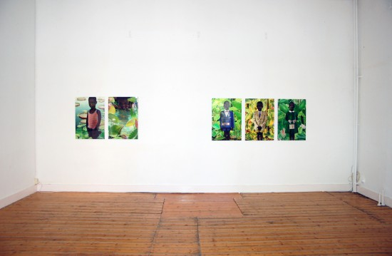 Exhibition view Photography and Painting - Flatland Gallery Amsterdam