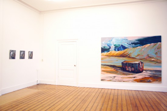Exhibition view For the Sake of Paint - Flatland Gallery Amsterdam