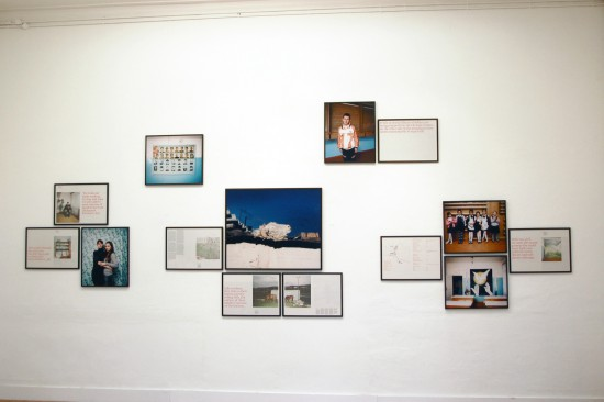 Exhibition view Inside: How Any Story Should Ultimately Be Told - Flatland Gallery Amsterdam