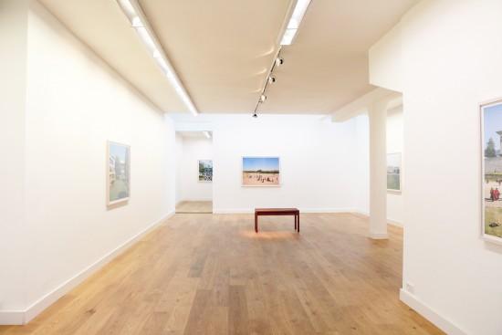 Exhibition view James Mollison - Flatland Gallery Amsterdam