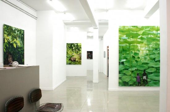 Exhibition view Ruud van Empel - Flatland Gallery Amsterdam
