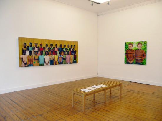 Exhibition view Wonder - Flatland Gallery Amsterdam