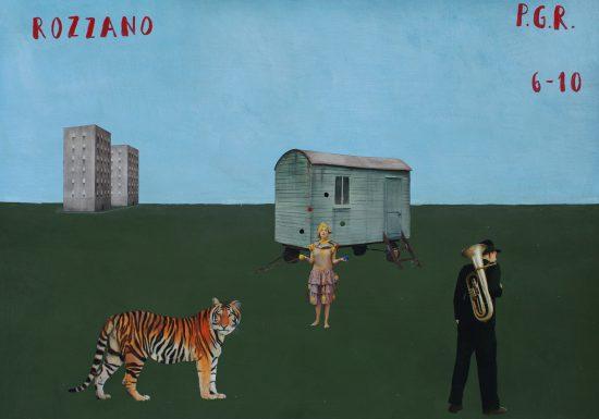 Exhibition view Rozzano (2019) - Flatland Gallery Amsterdam