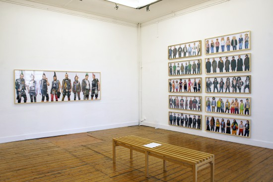 Exhibition view The Disciples and James & Other Apes - Flatland Gallery Amsterdam