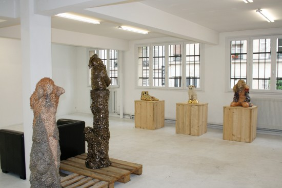 Exhibition view Trinity: Homage to the Illogical - Flatland Gallery Amsterdam