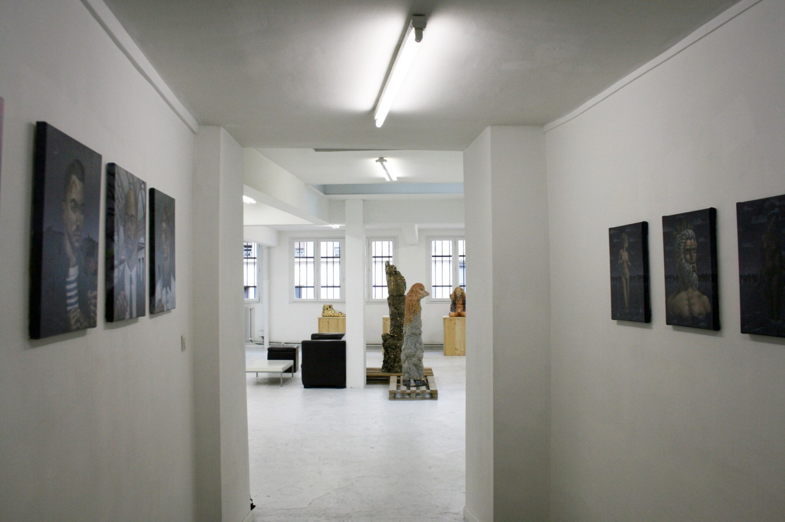 Exhibiton View Trinity: Homage to the Illogical