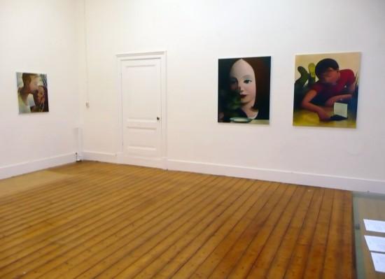 Exhibition view Uccellacci e Uccellini - Flatland Gallery Amsterdam