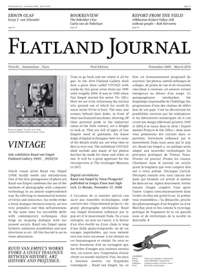 Exhibition view Flatland Journal I - Flatland Gallery Amsterdam