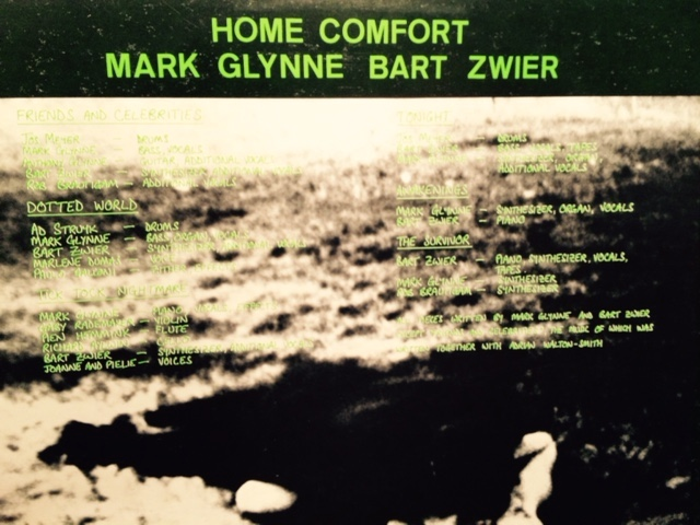 Home Comfort: Mark Glynne / Bart Zwier preview