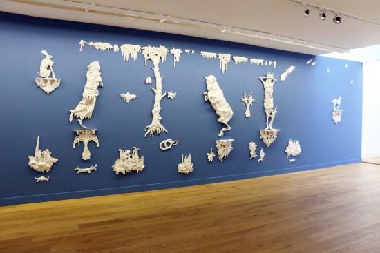 Exhibition view Carolein Smit - Flatland Gallery Amsterdam