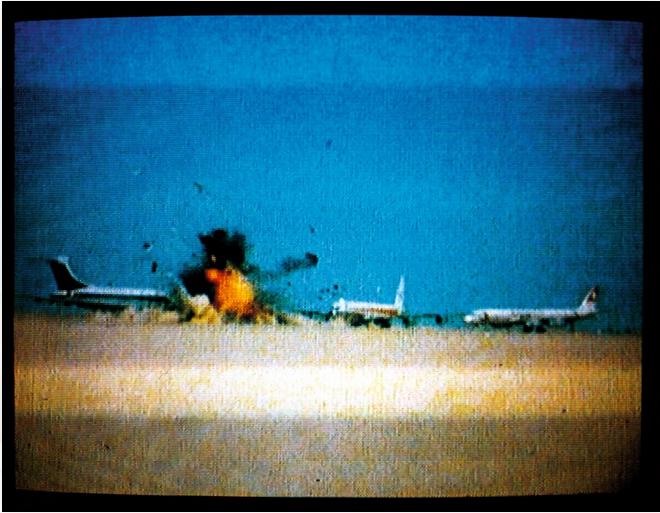Exhibiton View Dial H-I-S-T-O-R-Y and No Man's Land: Politics in the Sky – Skyjackers' Series