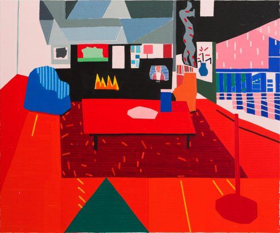 Exhibition view Guy Yanai - Flatland Gallery Amsterdam