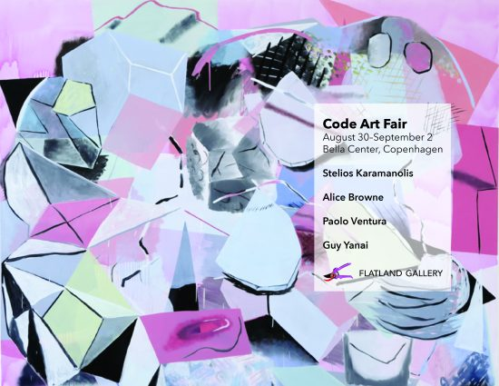 Fair impression for Code Art Fair - Flatland Gallery Amsterdam