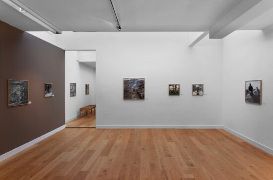 Exhibition view Katharine Cooper, South African photographer, artist and writer - Flatland Gallery Amsterdam