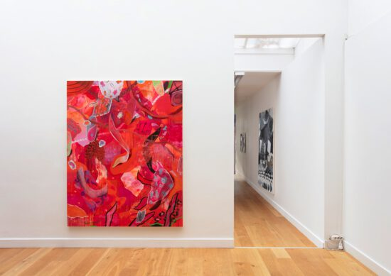 Exhibition view CAMOUFLAGE - Flatland Gallery Amsterdam