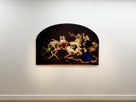 Exhibition view Nazif Topçuoglu - Flatland Gallery Amsterdam