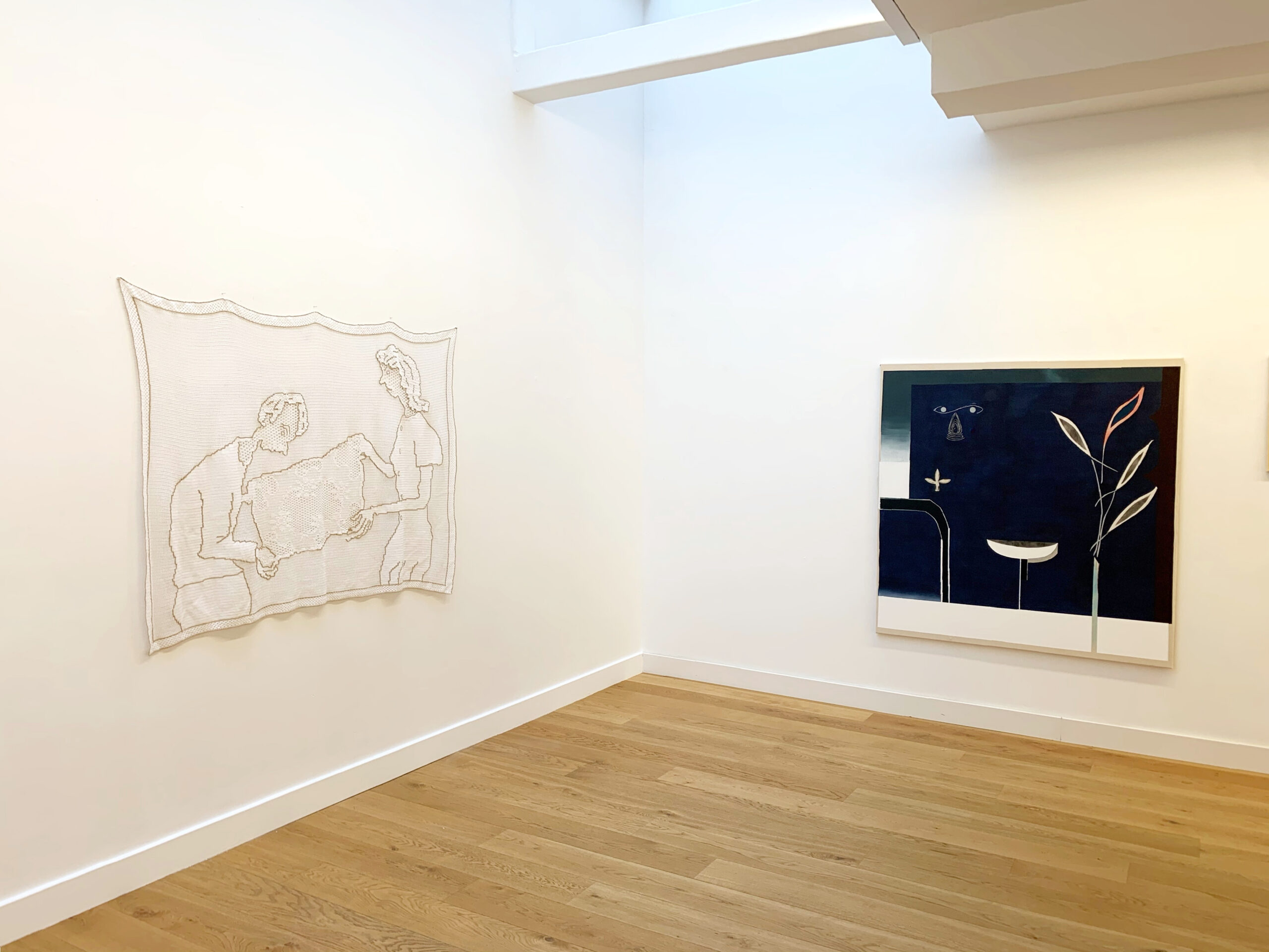 Exhibition view Jakup Ferri - Flatland Gallery Amsterdam
