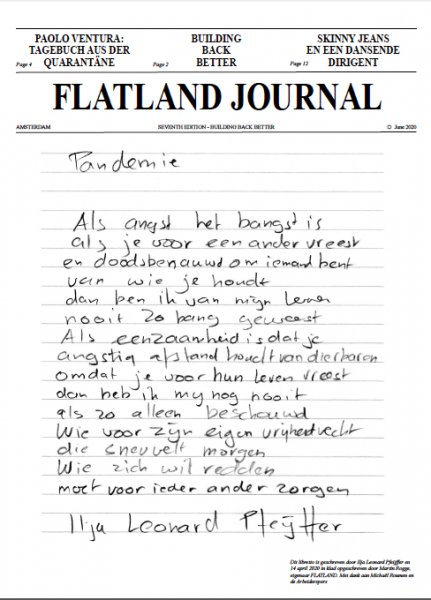 Exhibition view Flatland Journal VII - Flatland Gallery Amsterdam