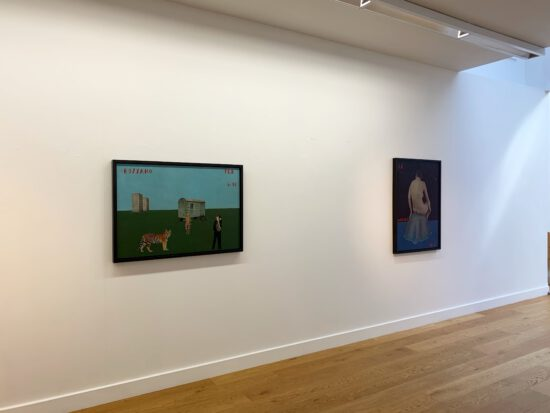 Exhibition view Paolo Ventura - Flatland Gallery Amsterdam