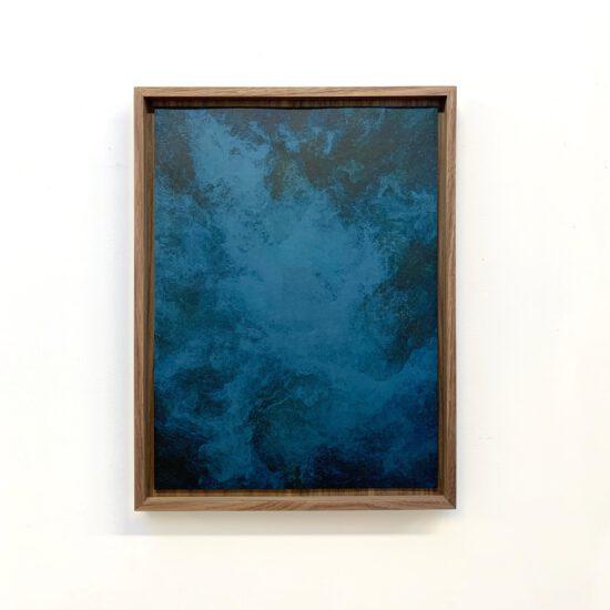Exhibition view Akui Gawa Indigo #1 (2020) - Flatland Gallery Amsterdam