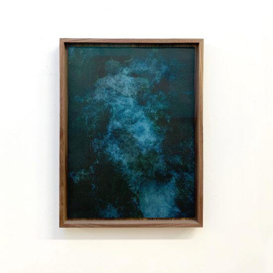 Exhibition view Akui Gawa Indigo #2 (2020) - Flatland Gallery Amsterdam