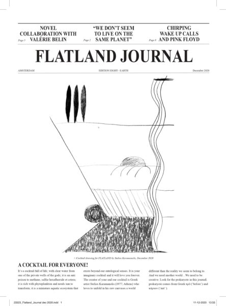 Exhibition view Flatland Journal VIII - Flatland Gallery Amsterdam