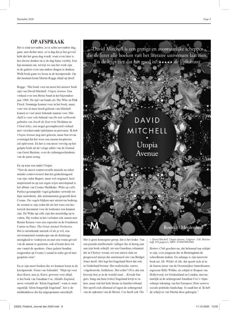 Flatland Journal VIII preview