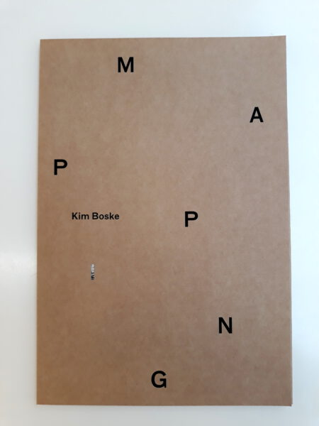 Exhibition view Kim Boske – Mapping incl. Original Photograph Mapping #12 - Flatland Gallery Amsterdam