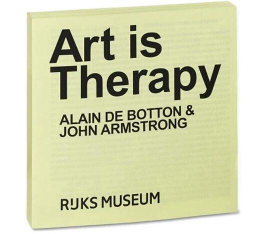 Exhibition view Alain de Botton & John Armstrong – Art is Therapy - Flatland Gallery Amsterdam