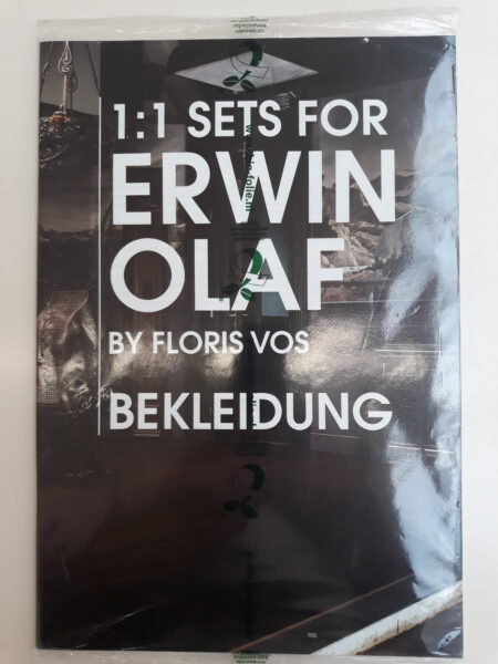 Exhibition view Floris Vos – 1:1 Sets for Erwin Olaf - Flatland Gallery Amsterdam