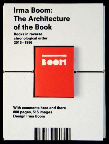 Exhibition view Irma Boom – The Architecture of the Book - Flatland Gallery Amsterdam